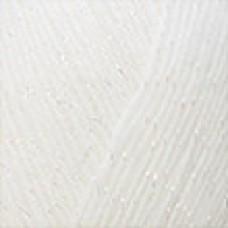 Angora luks simli 208 белый