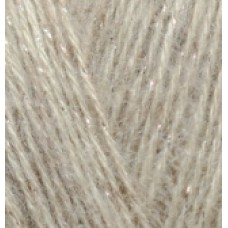 Angora gold simli 152 бежевый меланж