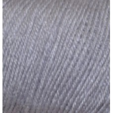 Baby wool 119 серое небо