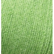 Baby wool 255 ярко - оливковый
