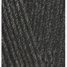 COTTON GOLD 182 средне-серый меланж