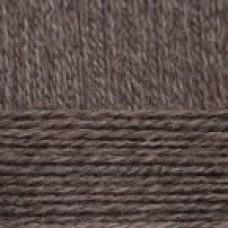 Козий пух 372 натуральный темно серый