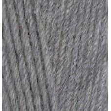 Lana cotton 21 серый меланж