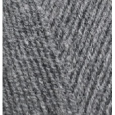 Lana gold fine 182 средне-серый меланж