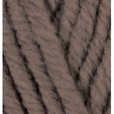 Superlana megafil 240 коричневый меланж